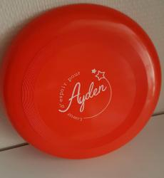 Frisby rouge